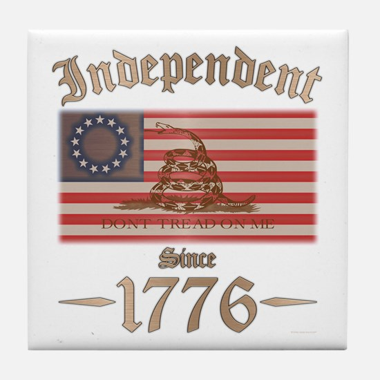 Independent Tile Coaster
