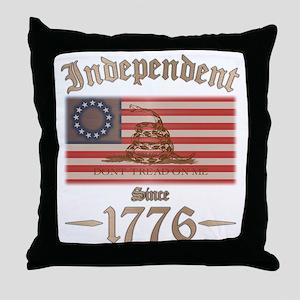 Independent Throw Pillow