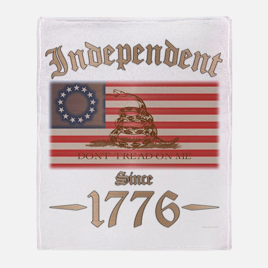 Independent Throw Blanket