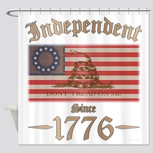 Independent Shower Curtain