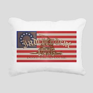 Independent Rectangular Canvas Pillow