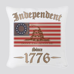 Independent Woven Throw Pillow