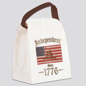 Independent Canvas Lunch Bag