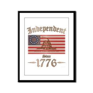 Independent Framed Panel Print