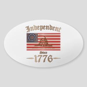 Independent Sticker (Oval)