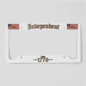 Independent License Plate Holder