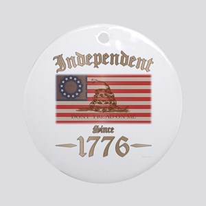 Independent Ornament (Round)
