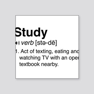 Study definition Sticker