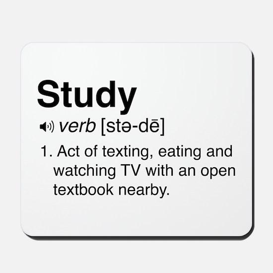 Study definition Mousepad