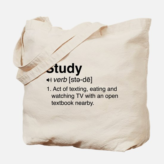 Study definition Tote Bag