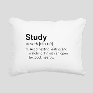 Study definition Rectangular Canvas Pillow