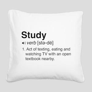 Study definition Square Canvas Pillow