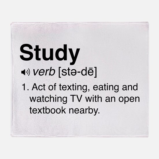 Study definition Throw Blanket