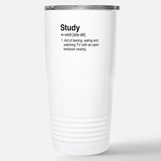 Study definition Travel Mug