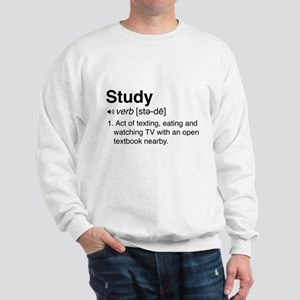 Study definition Sweatshirt