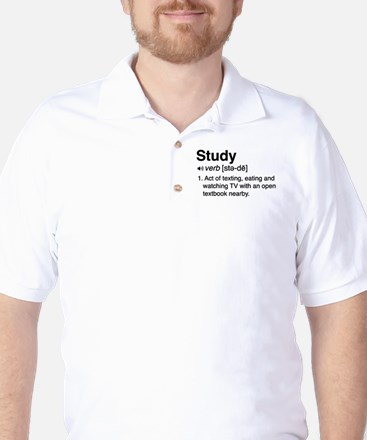 Study definition Golf Shirt