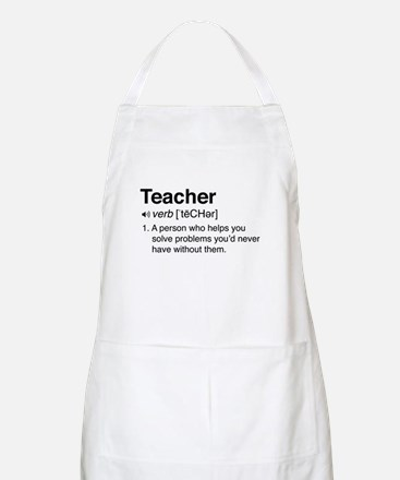 Teacher Definition Apron