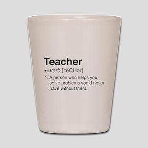 Teacher Definition Shot Glass