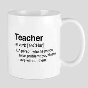 Teacher Definition Mugs