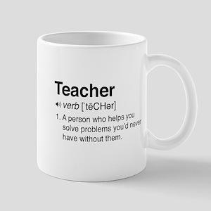 Teacher Definition Mugs