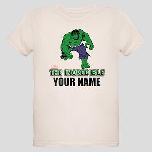 The Incredible Hulk Personali Organic Kids T-Shirt