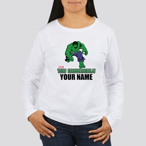 The Incredible Hulk Pe Women's Long Sleeve T-Shirt