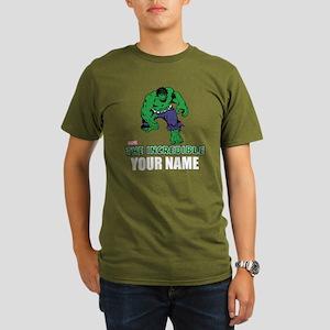 The Incredible Hulk P Organic Men's T-Shirt (dark)
