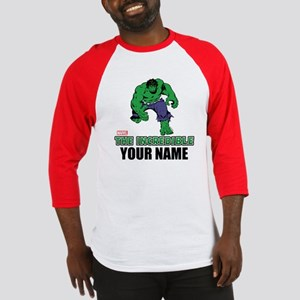 The Incredible Hulk Personalized D Baseball Jersey