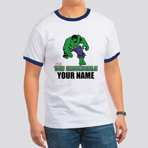 The Incredible Hulk Personalized Designs Ringer T