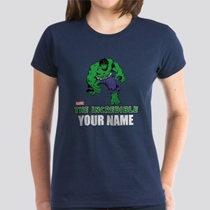 The Incredible Hulk Personali Women's Dark T-Shirt