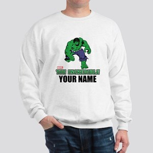 The Incredible Hulk Personalized Design Sweatshirt