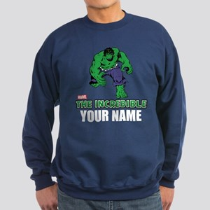 The Incredible Hulk Personalized Sweatshirt (dark)