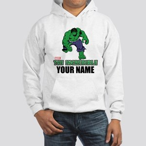 The Incredible Hulk Personalized Hooded Sweatshirt