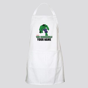 The Incredible Hulk Personalized Designs Apron