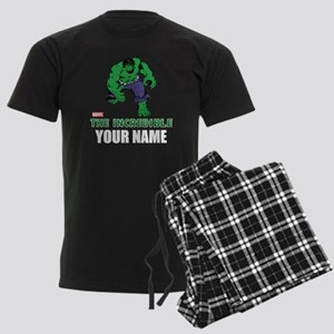 The Incredible Hulk Personaliz Men's Dark Pajamas