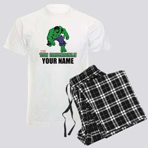 The Incredible Hulk Personali Men's Light Pajamas