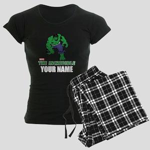 The Incredible Hulk Personal Women's Dark Pajamas