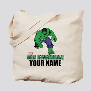 The Incredible Hulk Personalized Designs Tote Bag