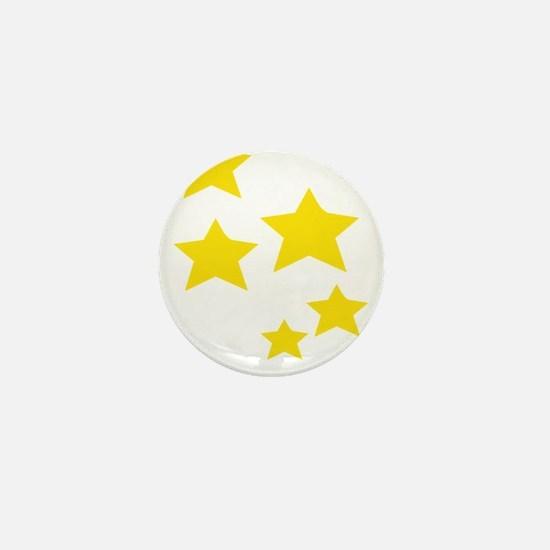 Funny Gold star Mini Button