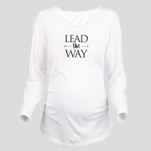 Lead The Way - Long Sleeve Maternity T-Shirt