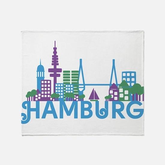 Unique Hamburg Throw Blanket