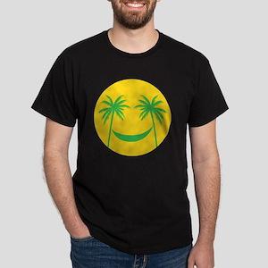 Sun smiley Dark T-Shirt