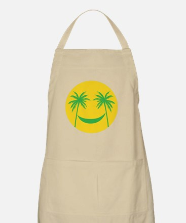 Sun smiley Apron