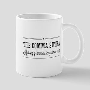 The comma sutra Mugs
