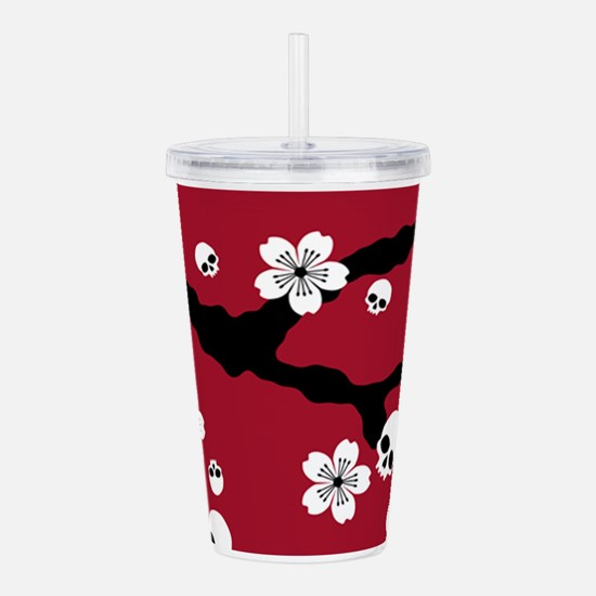Unique Skull Acrylic Double-wall Tumbler