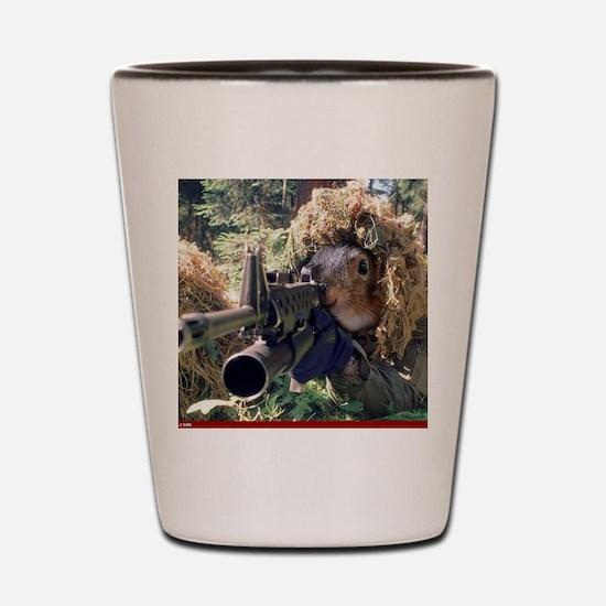Unique Squirrels Shot Glass