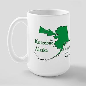 Kotzebue Map Large Mug