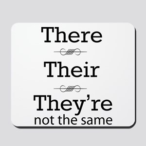 They are not the same Mousepad