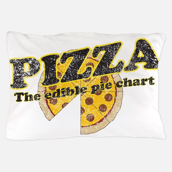 Pizza edible pie chart Pillow Case