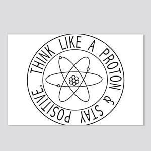 Proton stay positive Postcards (Package of 8)
